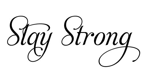 To every person out there struggling, stay strong
