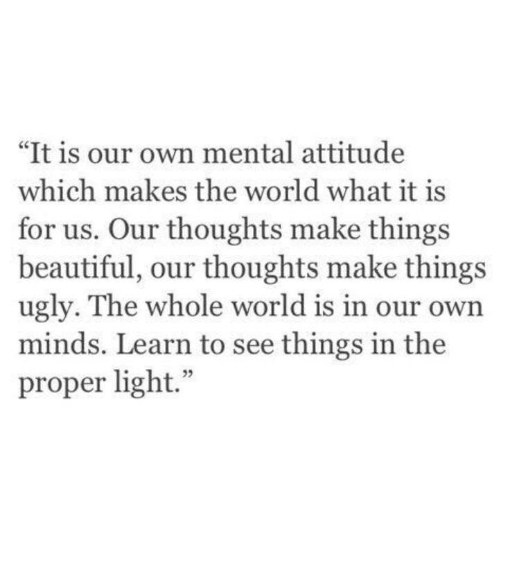 I say this all the time. Your attitude determines where you go in life