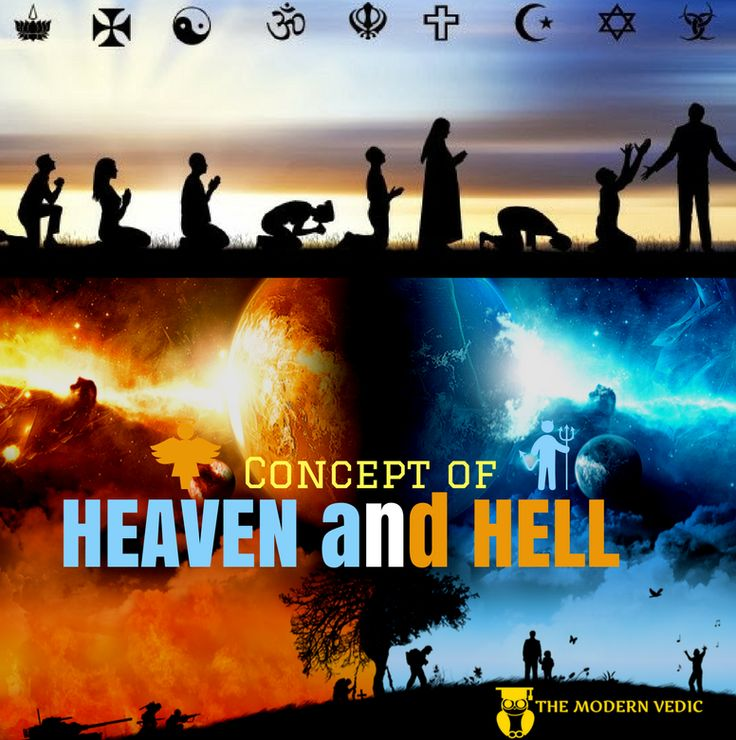 Concept of Heaven and Hell - We all are very much aware of the fact that God is very kind and merciful. He has given us human beings total freedom to find the absolute truth in this world and a state …