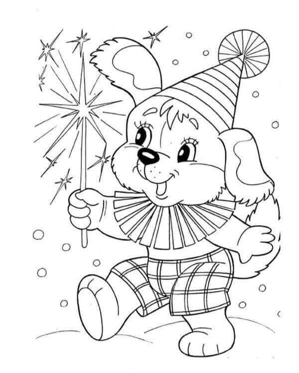 Новогодние зверушки картинки раскраски, якутск как создать