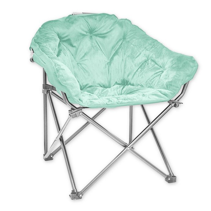 Tremendous Folding Faux Mink Club Chair Bed Bath Beyond Our Home Gmtry Best Dining Table And Chair Ideas Images Gmtryco