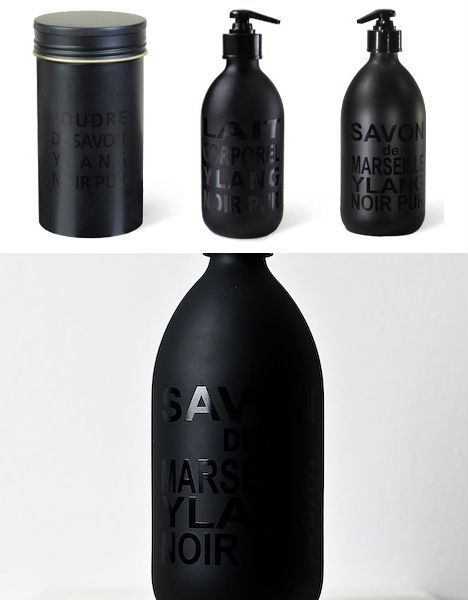 Lindsay - this packaging is really similar to what we had in mind for ours, and conveys a clear image of shiny black on top of matte black.