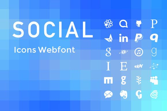 Check out (SALE) Simple Social Icons Web Font by caiocall on Creative Market