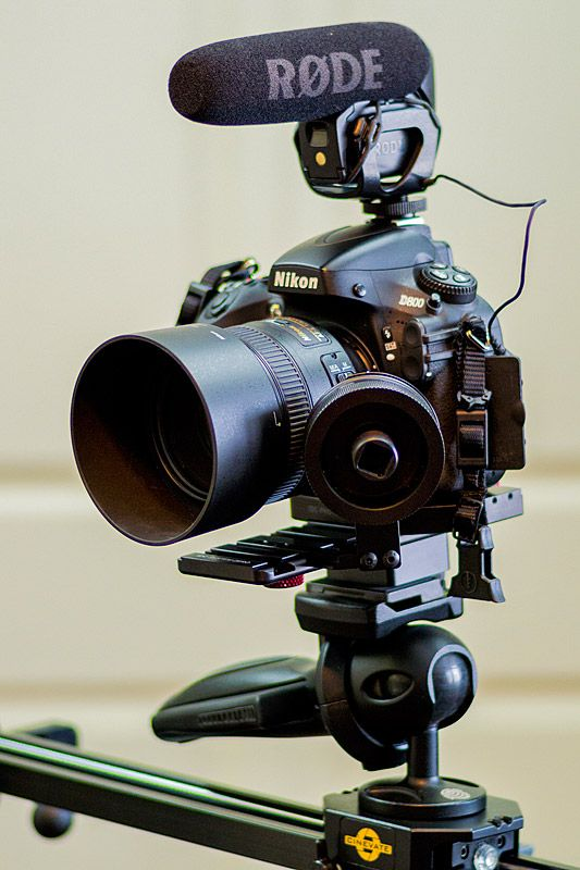 How to Use a DSLR to Shoot Video - Same setup can be used with a Canon Gear - Nikon D800 Video Setup