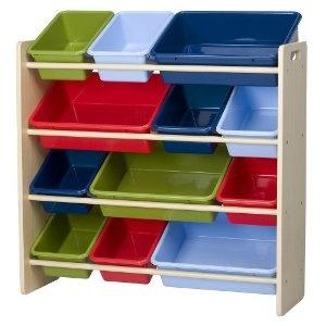 Circo Storage Organizer Natural For The Playroom