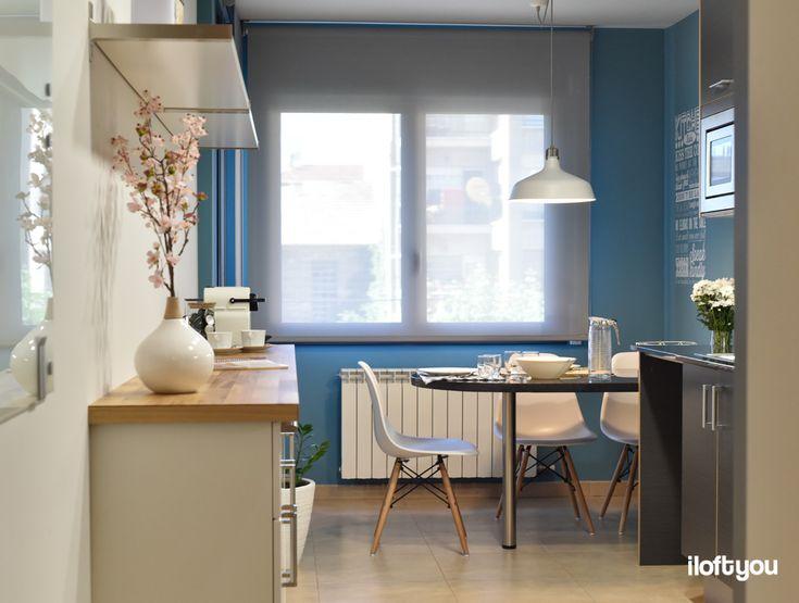 #proyectoguissona #iloftyou #interiordesign #interiorismo #ikea #ikalover #ikeaaddict #kitchen #maisonsdumonde #veddinge #ranarp #myvinilo