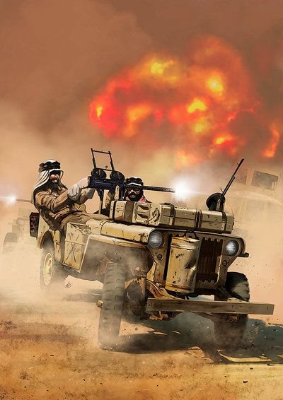 Willys MB Jeep Special Air Service by dugazm on DeviantArt