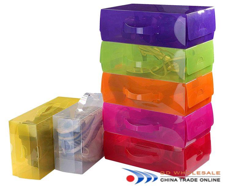 Plastic Shoe Storage Boxes