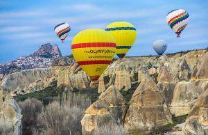 Olağanüstü Coğrafya Kapadokya'da Gezilecek Yerler