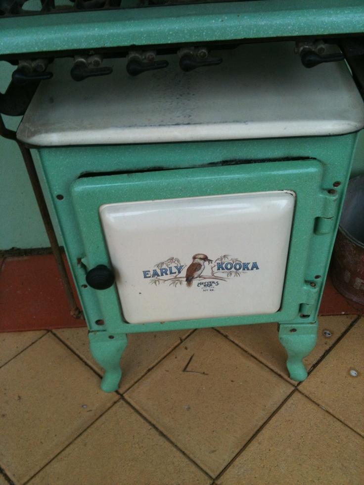 Early Kooka gas stove