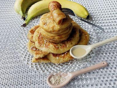 Di gotuje: Placuszki chałwowe z bananem (z tahini)