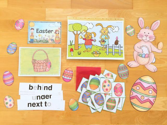 Materialwiese: Ostern im Englischunterricht der Grundschule