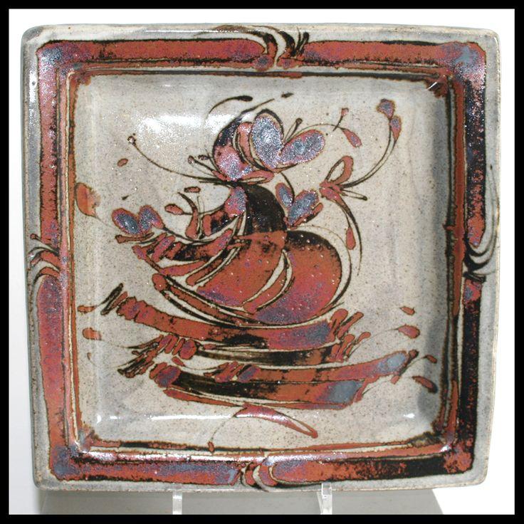 Jean Claude de Crouzas - plate | Capriolus Contemporary Ceramics - Gallery