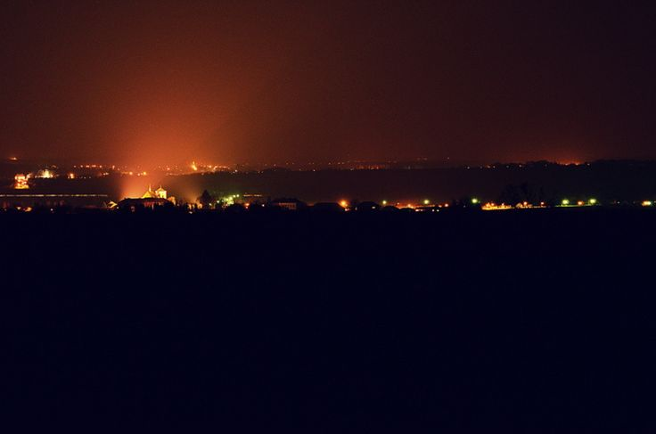 Night village by Adéla Kosová on 500px