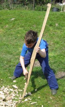 ZELF BOGEN MAKEN, houtkoorts, handboog maken, houten boog maken, longbow, flatbow, bogen bouwen