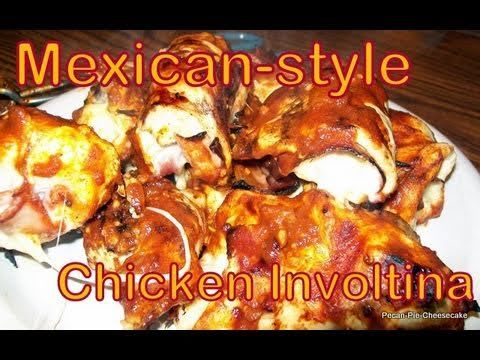 Atkins diet recipes mexican style chicken involtini if for Atkins quick cuisine bake mix