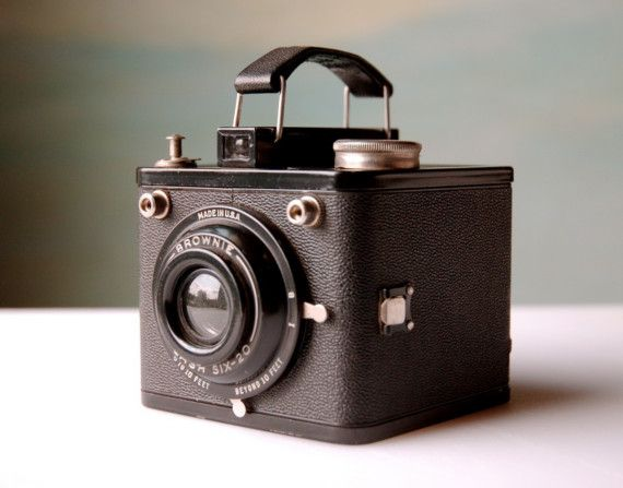 Vintage Camera. Antique Brownie by domestikate on Etsy