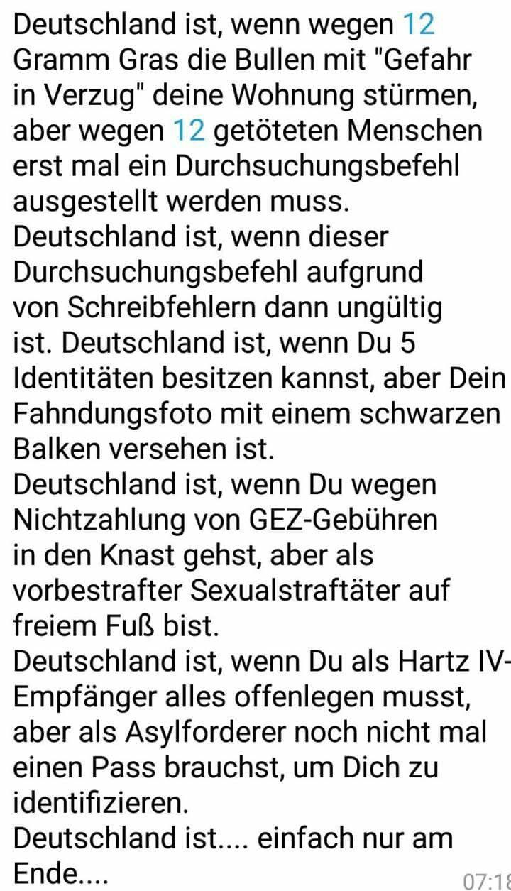 Deutschland ist...