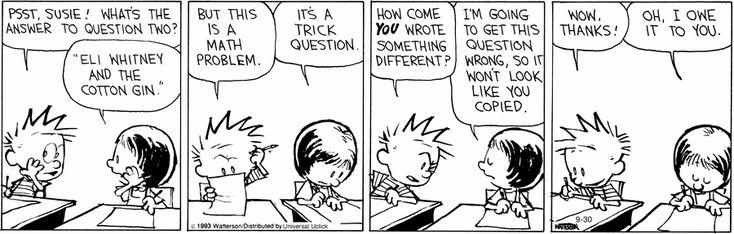 Calvin and Hobbes | Comics | Pinterest | Funny stuff and Humor