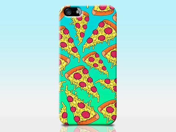 pizza print phone case