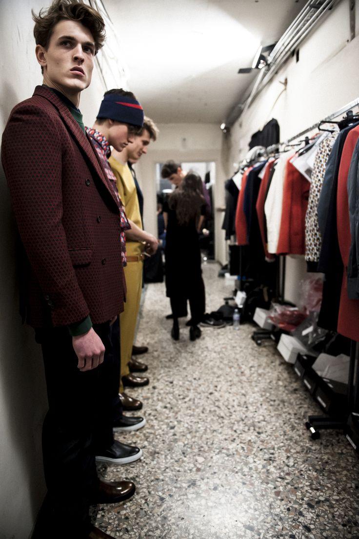 Andrea Incontri Backstage men