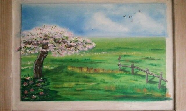 Spring made by Tirza Atsma-Hoornstra (sold)