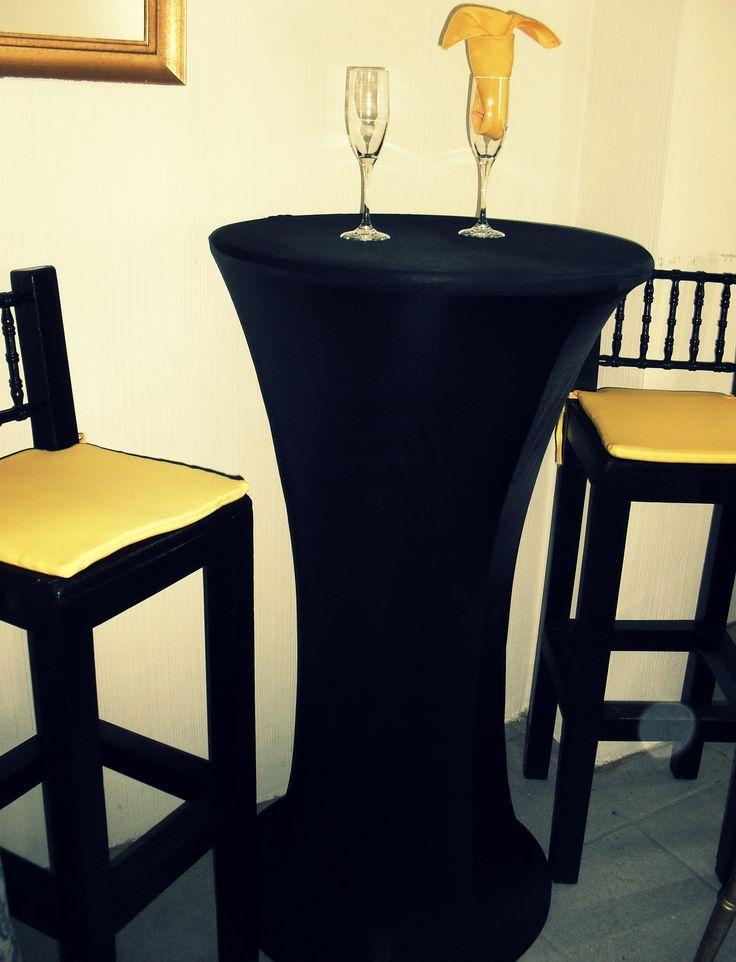 Mantel de licra para mesas cocteleras altas nueva - Mesas de bar altas segunda mano ...
