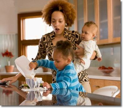 single mothers living with their parents Many single parents co-residence with their parents, more commonly single mothers do this.