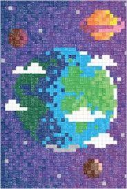 Billedresultat for faber castell pixel art