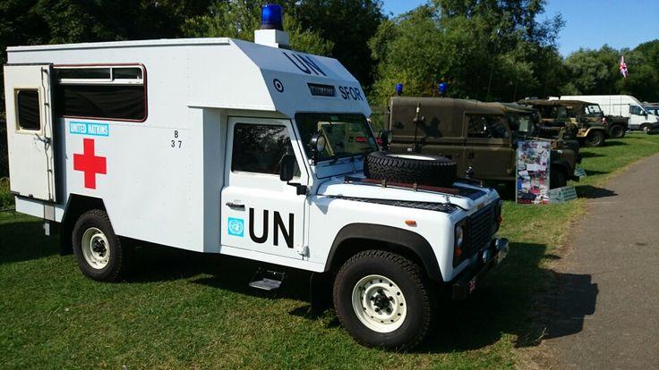 Range Rover Defender >> Land Rover 127 V8 Ambulance   car pics   Pinterest   Land rovers, Ambulance and Land rover defender
