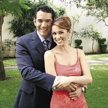 regram @telenovelasy Eduardo Santamarina y Jackeline Bracamontes @jackybrv #telenovela #rubi
