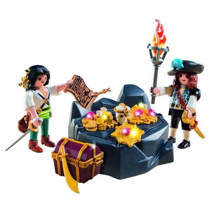Playmobil Pirate Treasure Hideout,