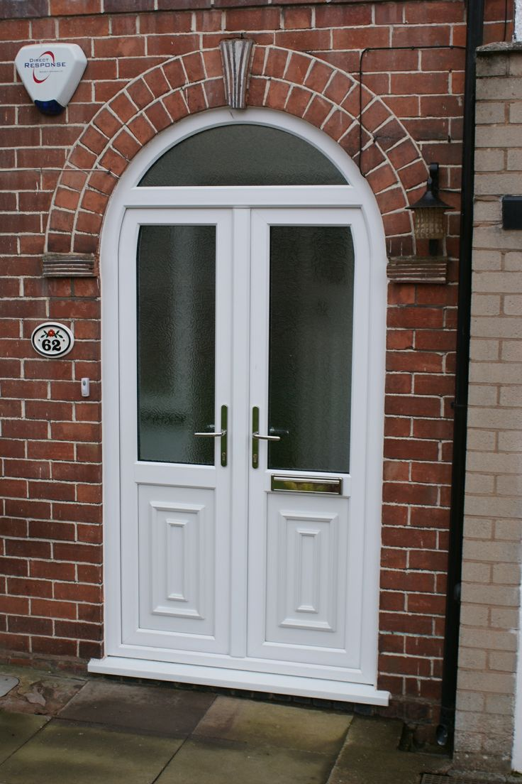 Welcome in your friends and family with this elegant arched door way. http://www.finesse-windows.co.uk/french_doors.php