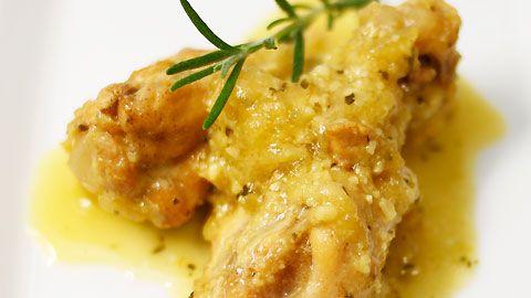 鶏肉のアーモンドソース煮:スペイン料理簡単レシピ集