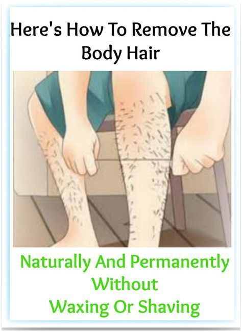 This Is How You Can Remove Body Hair Permanently Without Waxing or Shaving
