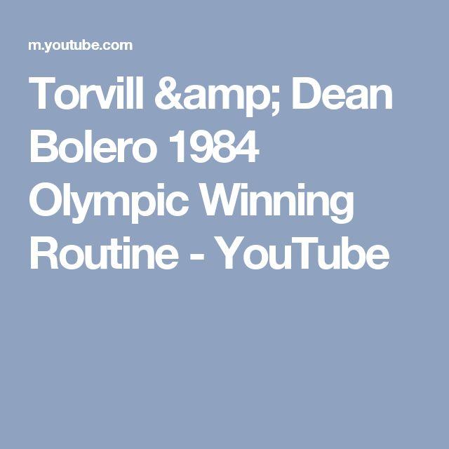 Torvill & Dean Bolero   1984 Olympic Winning  Routine - YouTube
