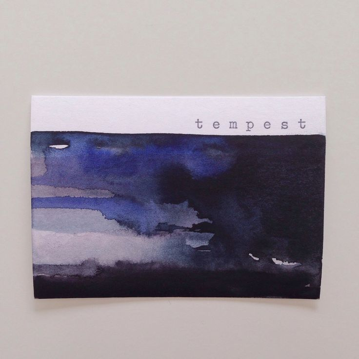 A tempest, a storm in one's mind. Etsy shop https://www.etsy.com/listing/231779468/raging-tempest-storm-in-a-heart-dramatic