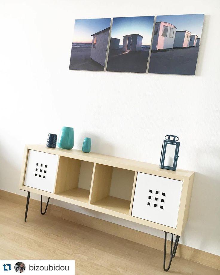 Atelier Ripaton — Hairpin legs Réalisez un meuble de rangement  partir d une