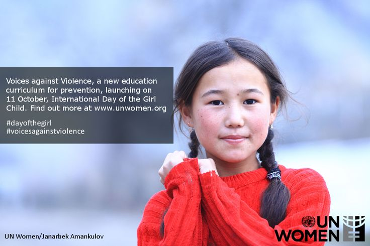 Voices against Violence - a new curriculum for violence prevention #dayofthegirl #dayofgirlchild