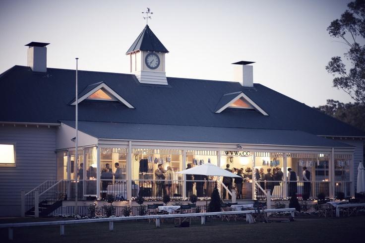 Wandin Valley Estate Hunter Valley Cricketer's Pavilion Wedding Reception. http://www.wandinvalley.com.au/weddings/contact.htm