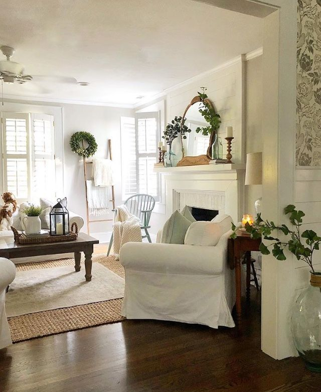 Pin By Vintage French Soul On Home Decorating Ideas Farm House Living Room Fixer Upper Living Room Farmhouse Decor Living Room