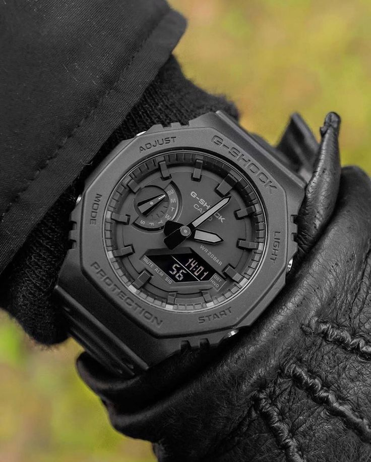 """Complicated Watches on Instagram """"The Black Casio GShock"""