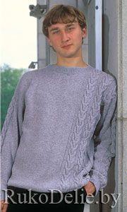 Фото мужского пуловера