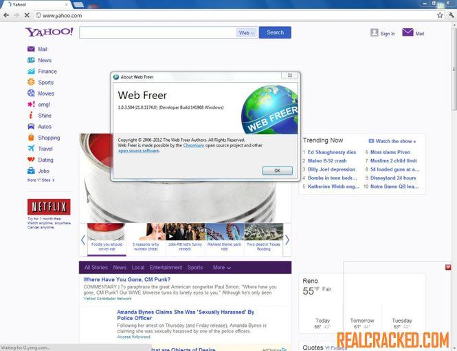 Download Web Freer 1.1.1.1 Crack Full Version Windows 7, 8, 10