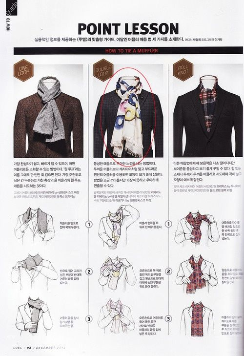 Tip - Scarf Tying for Men