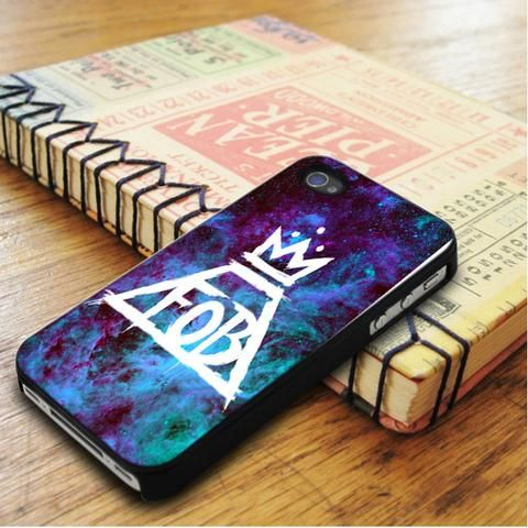 Fall Out Boy Logo Galaxy iPhone 5|iPhone 5S Case