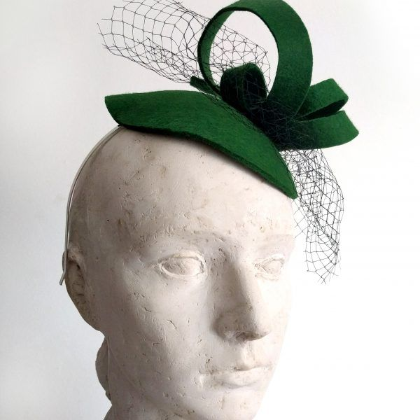 OLGA Fascinator hat made by Eventivity Accessorize