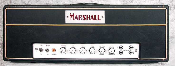 Marshall Serial Dating Amps Number By
