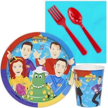 Check out these great place settings that all The Wiggles fans are sure to love! #Birthday #Party #Wiggles