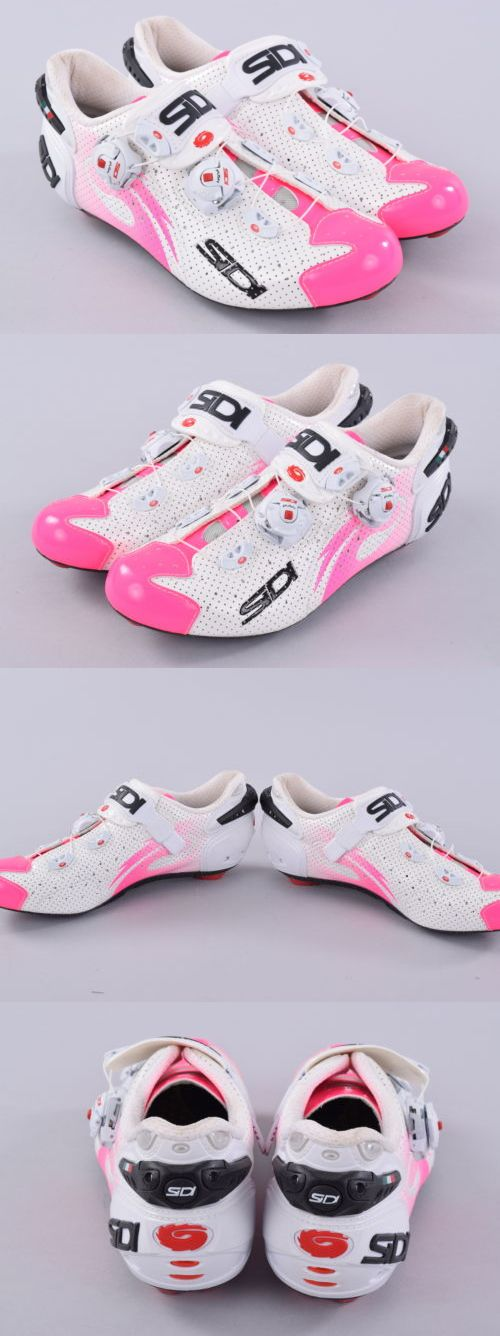 Women 158987: Sidi Scarpe Wire Carbon Air Lucido Road Womens Cycling Shoes Eu39.5 Us7.5 Pink -> BUY IT NOW ONLY: $320.09 on eBay!